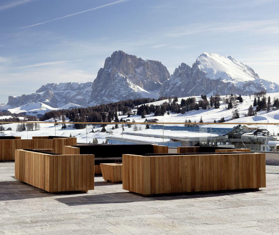 Luxushotel Alpina Dolomites Lodge Südtirol