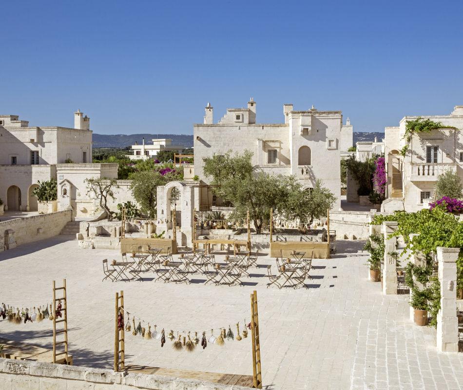 Luxusreise nach Italien - Borgo Egnazia