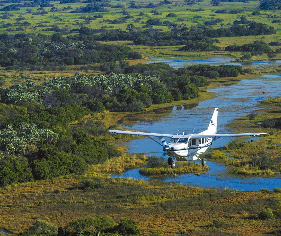 Luxusurlaub in Botswana - Luxuslodge &Beyond Sandibe Okavango Safari