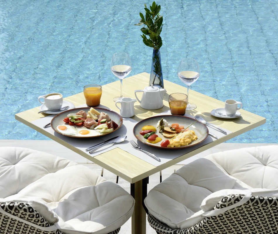 Luxusurlaub auf Mykonos - Myconian Kyma Design Hotel