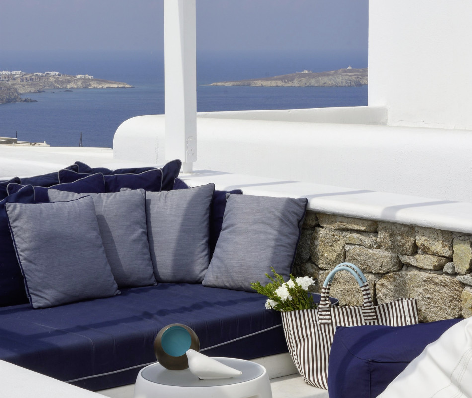 Luxushotel Myconian Kyma Design Hotel auf Mykonos