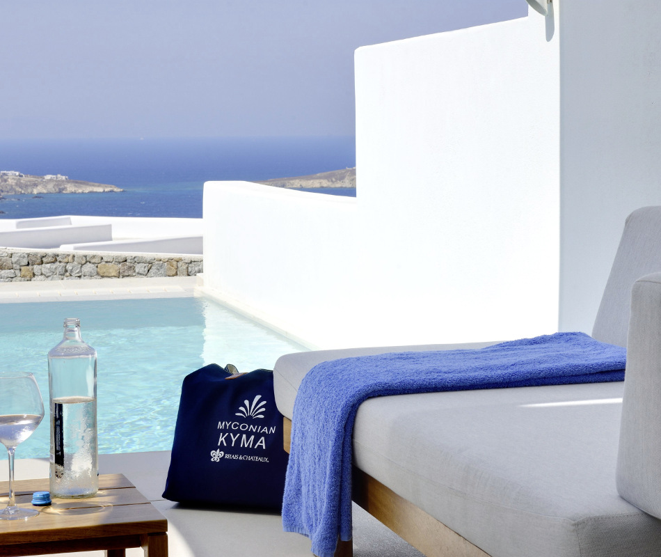 Luxusreise nach Mykonos - Myconian Kyma Design Hotel