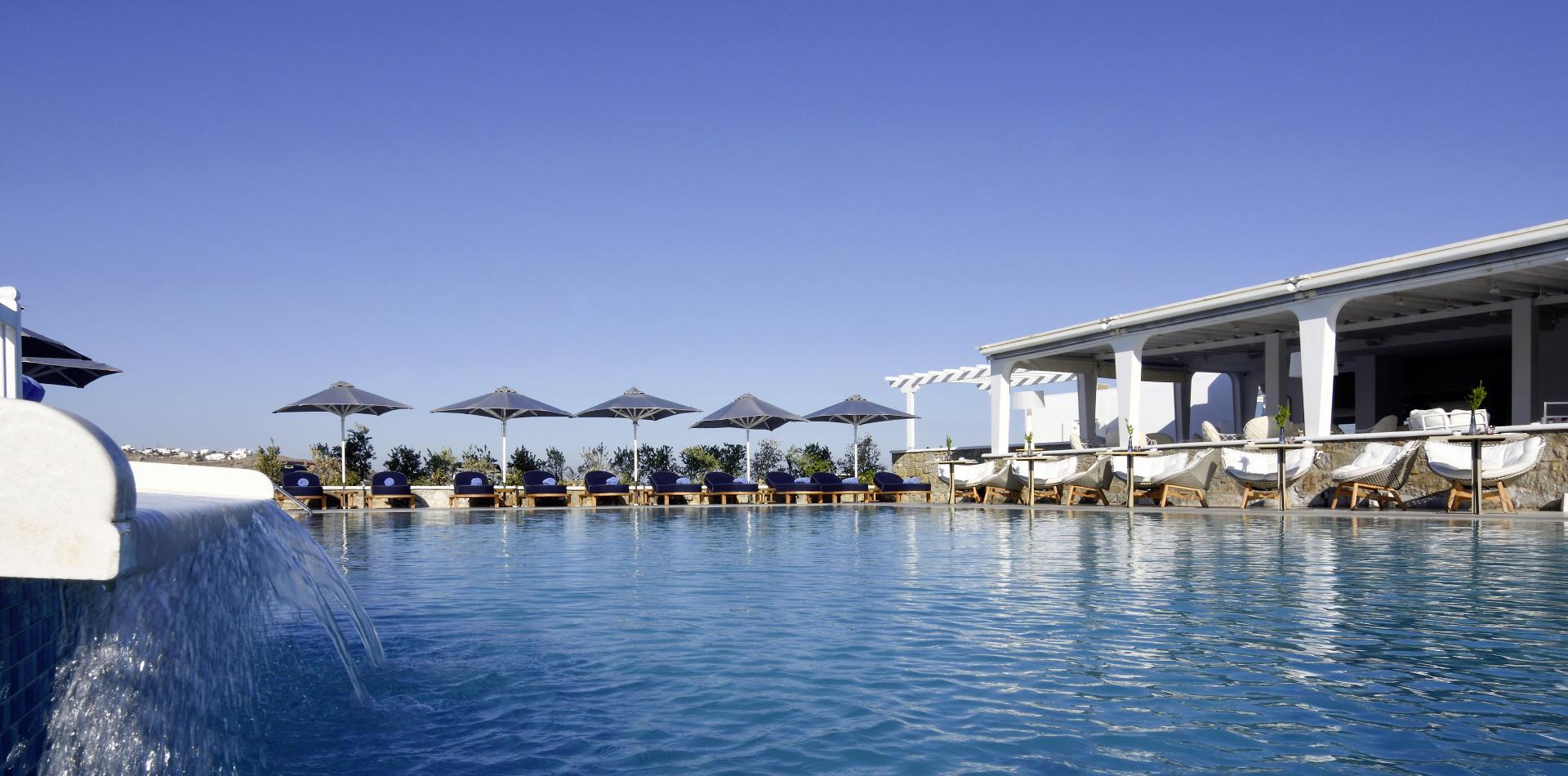 Luxushotel auf Mykonos - Myconian Kyma Design Hotel