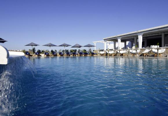 Luxusreise nach Mykonos ins Myconian Kyma Design Hotel