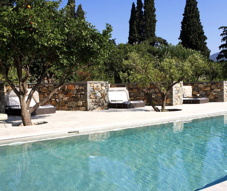 Luxusreise nach Griechenland - Kinsterna Hotel