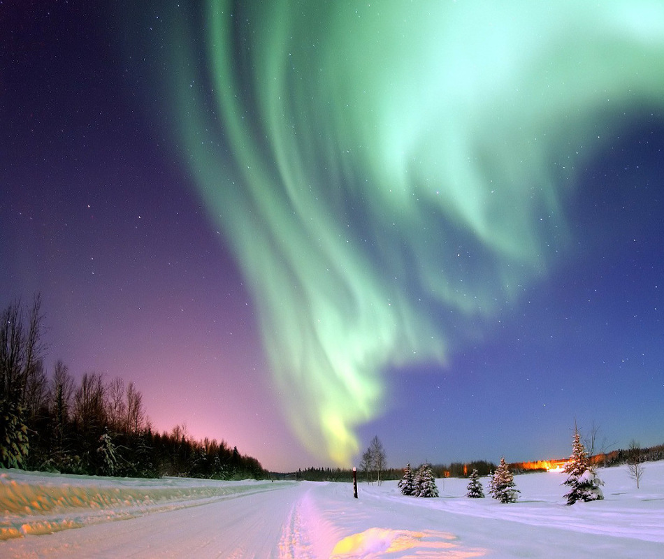 Erlebnisreise nach Finnland - Polarlichter