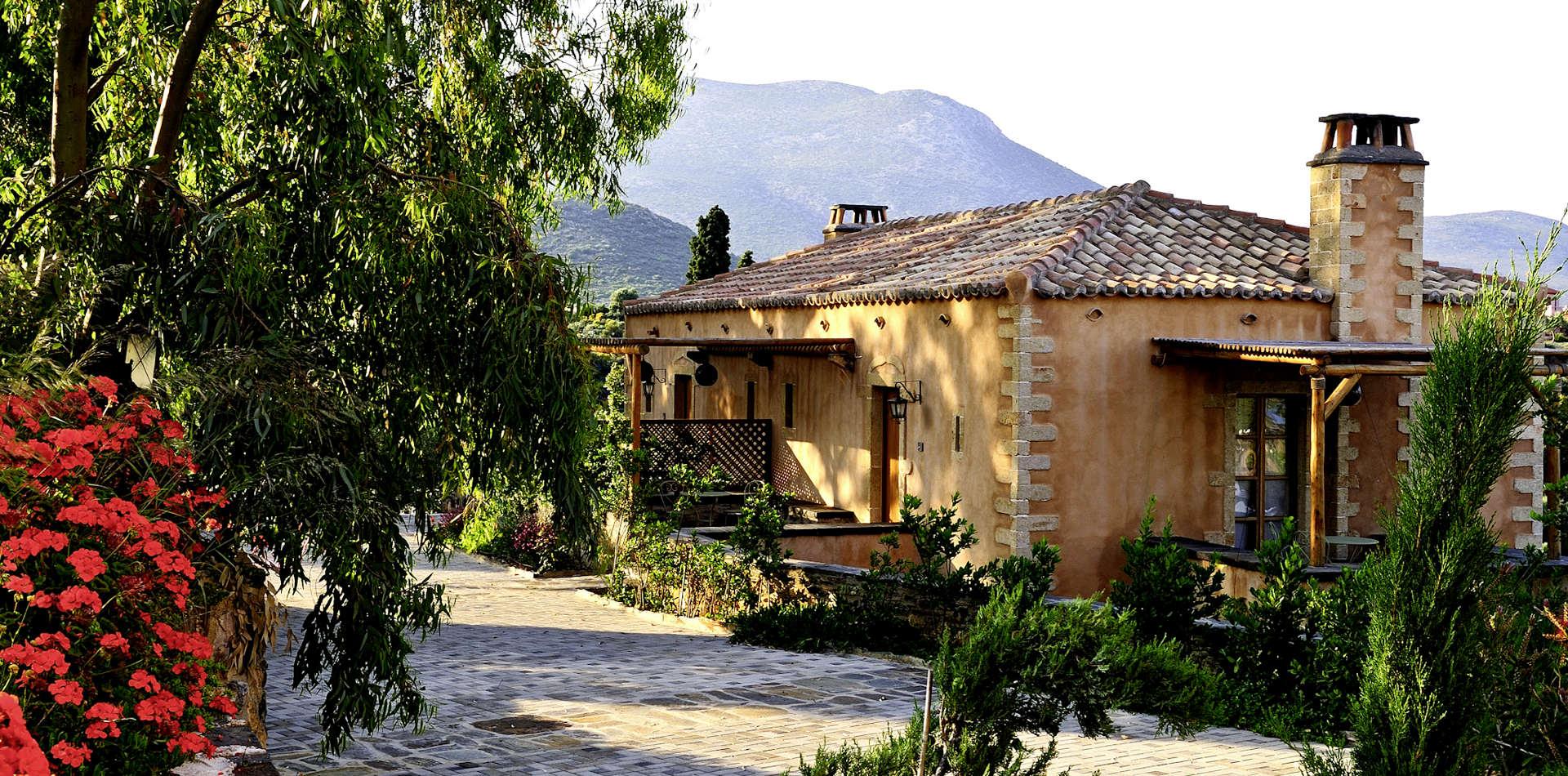 Luxusreise nach Griechenland ins Kinsterna Hotel