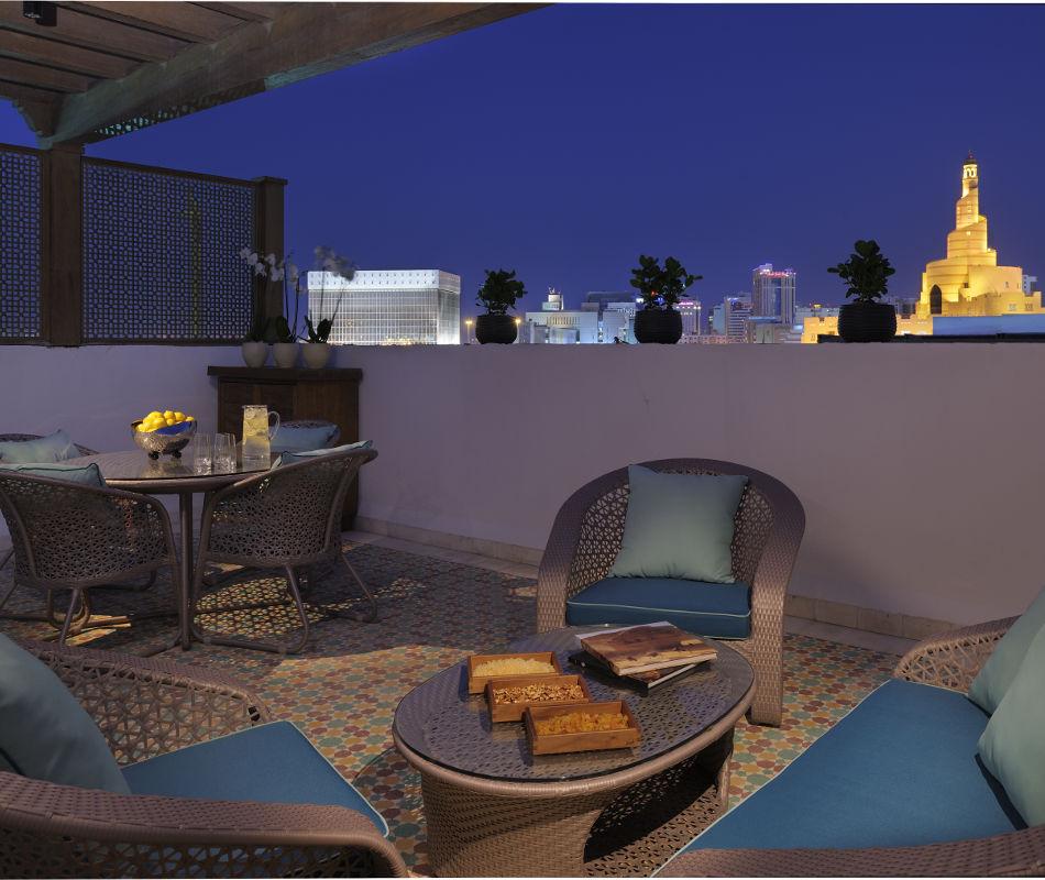 Al bidda souq waqif boutique hotel in doha katar bei tom s for Was sind boutique hotels