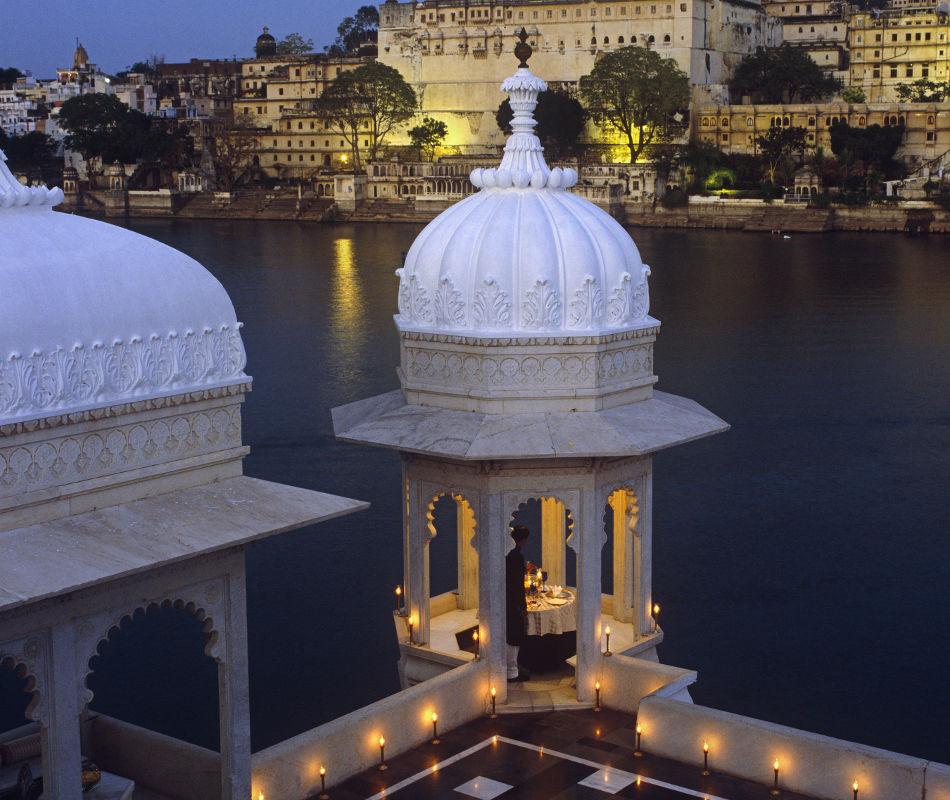 Taj Lake Palace Udaipur Indien, Luxushotel Indien, Luxusreise Indien