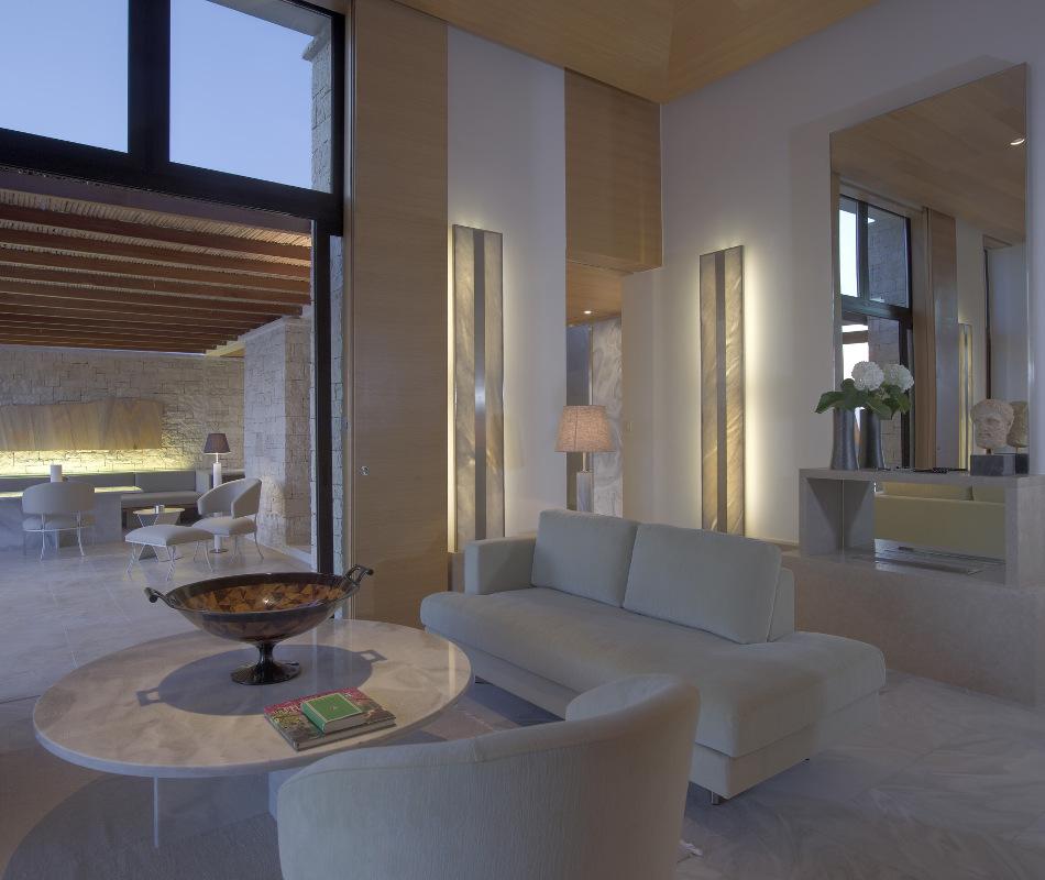 Luxushotel Amanzoe in Griechenland