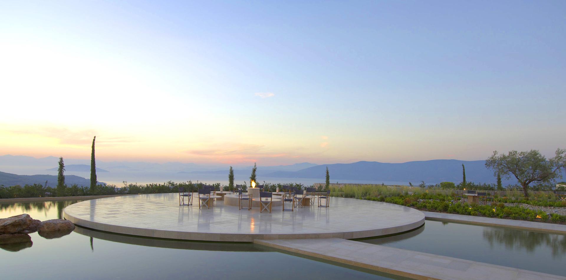 Luxushotel in Griechenland - Amanzoe