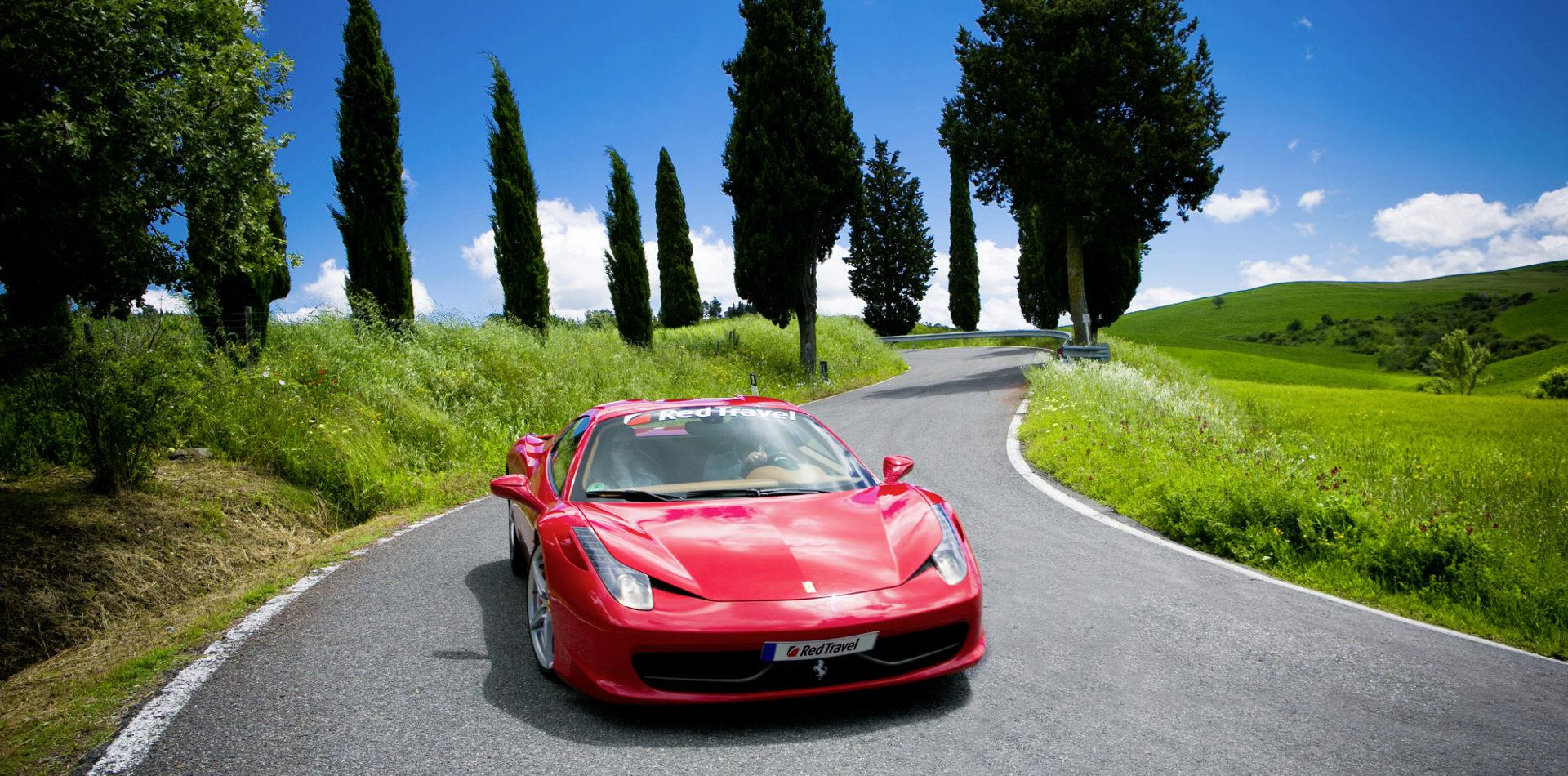 Erlebnisreise Italien mit dem Ferrari von Rom nach Florenz