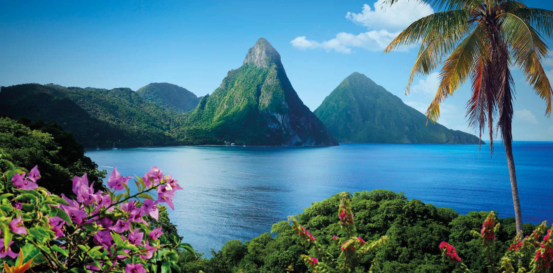 Luxusreise St. Lucia. Luxushotel St. Lucia