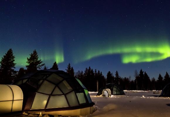 Luxusreise ins Kakslauttanen Arctic Resort