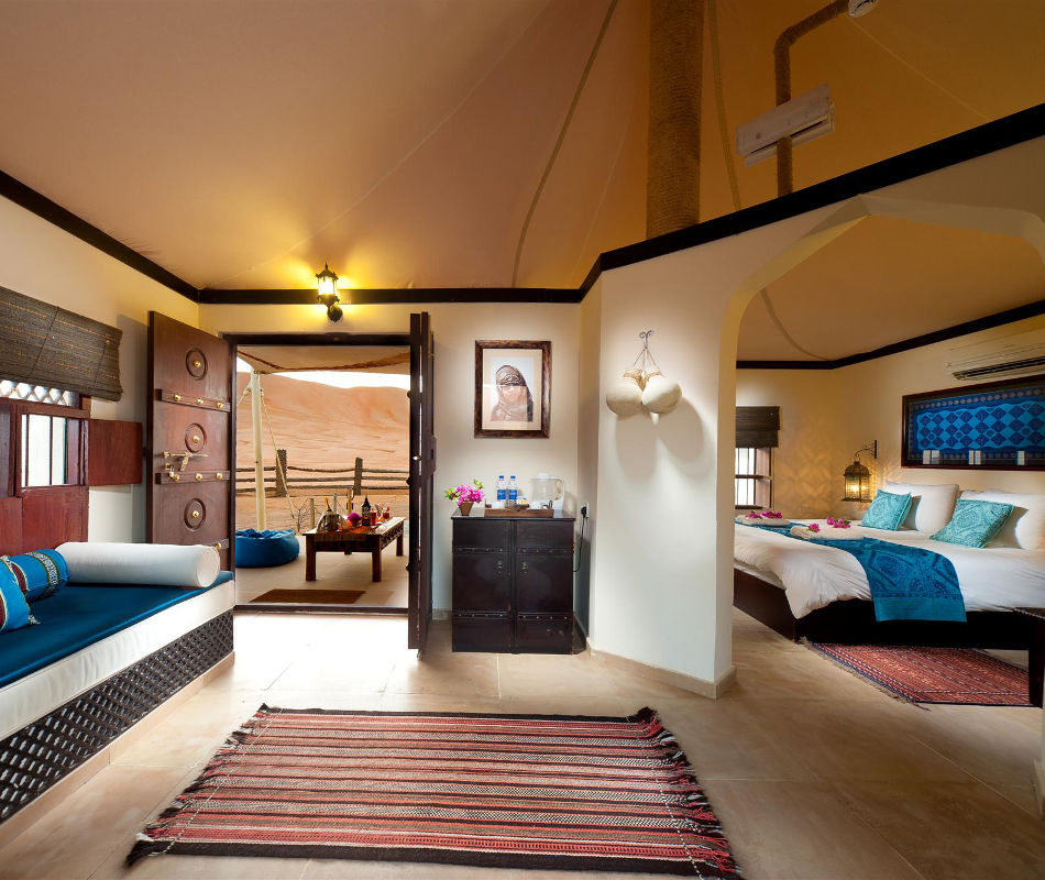 Wüstencamp Arabische Emirate: Desert Nights Camp Oman