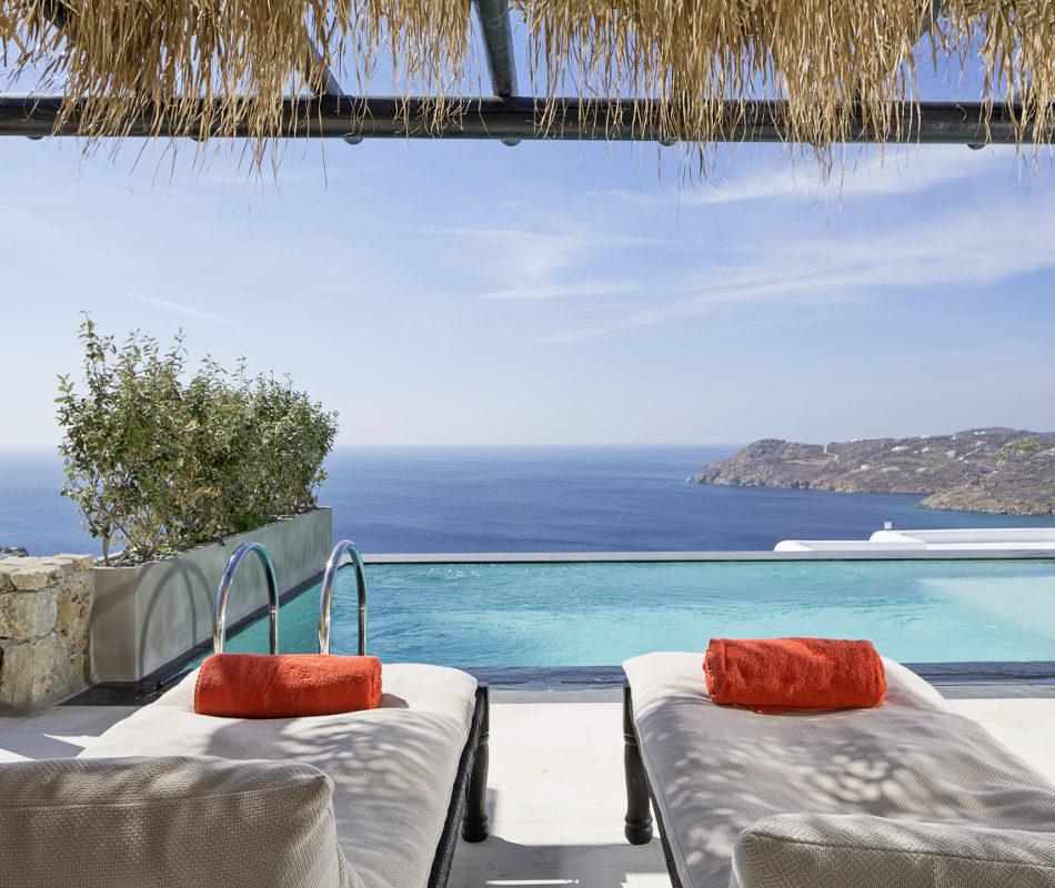 Luxushotel auf Mykonos - Myconian Utopia Resort