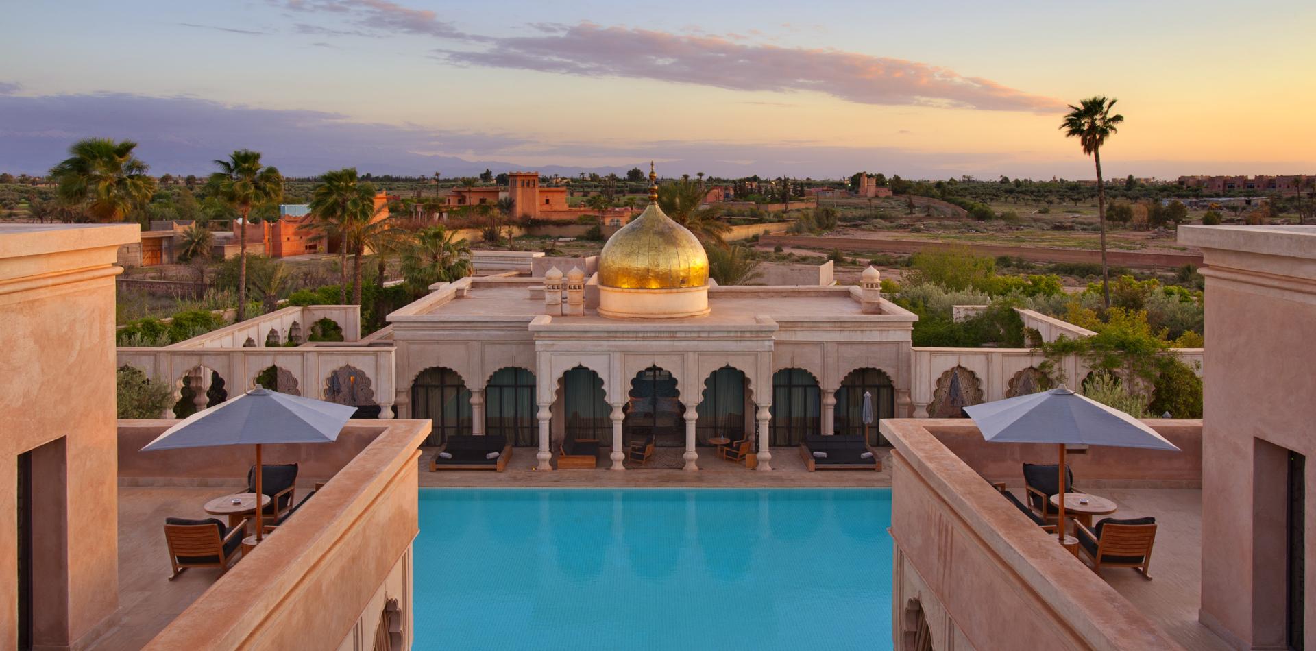 Luxushotel Palais Namaskar Marokko, Luxushotel Marrakesch, Individualreise Marokko