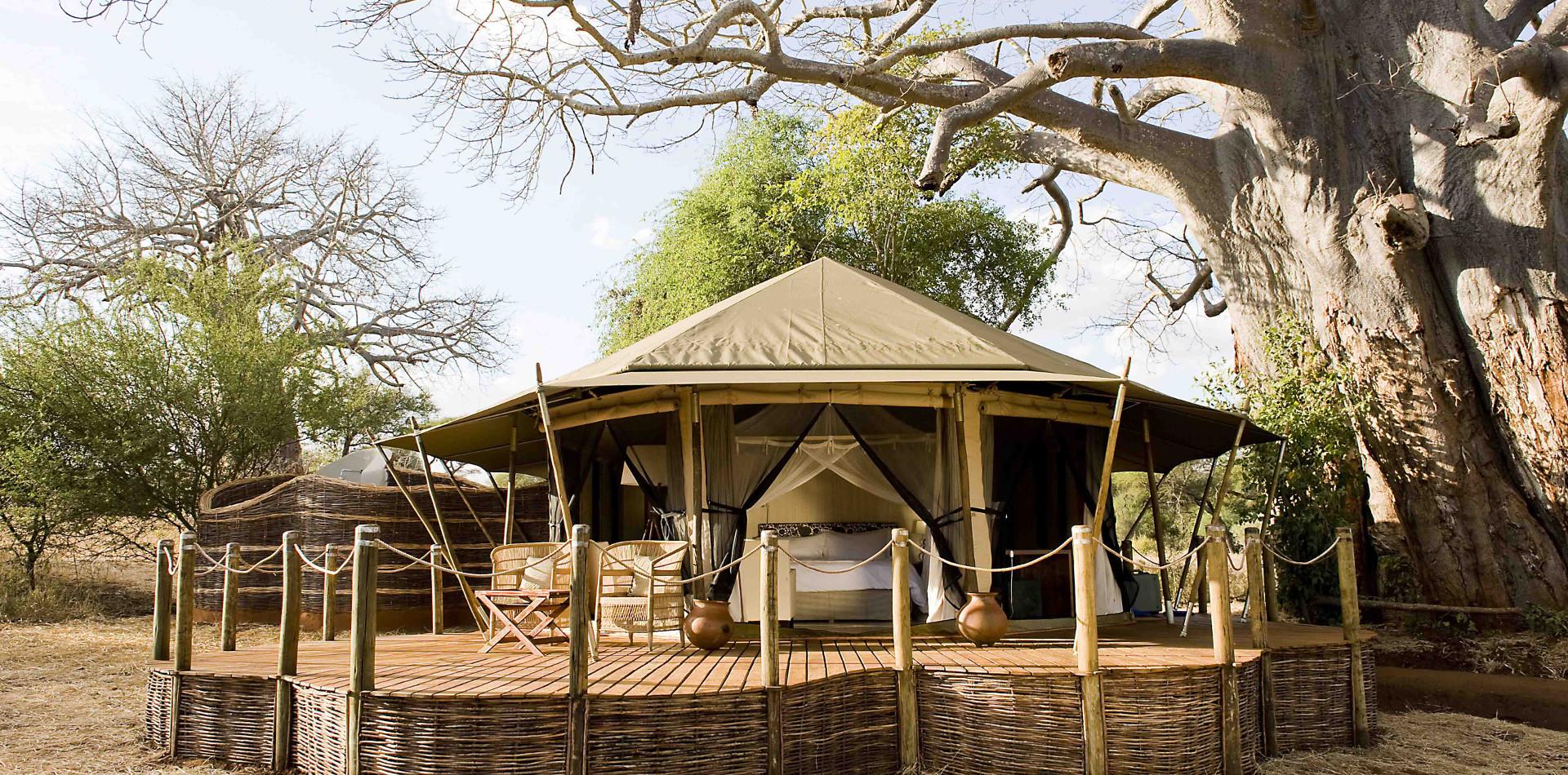 Sanctuary Swala Camp Tansania, Camp Tarangire Nationalpark, Individualreise Tansania