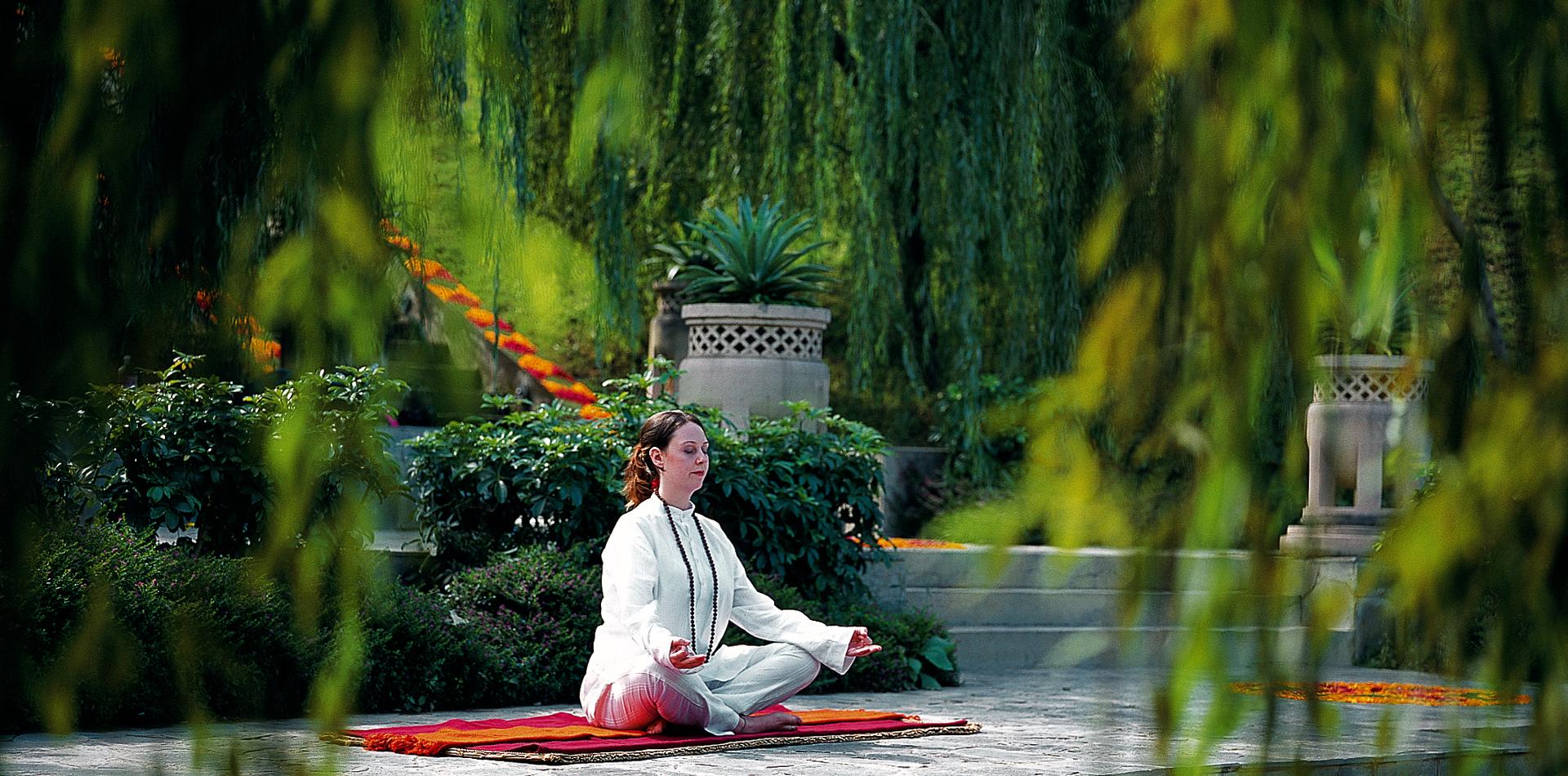 Ananda in the Himalayas, Wellness Ayurveda Yoga Meditation Hotel Indien, Wellnessreise Indien