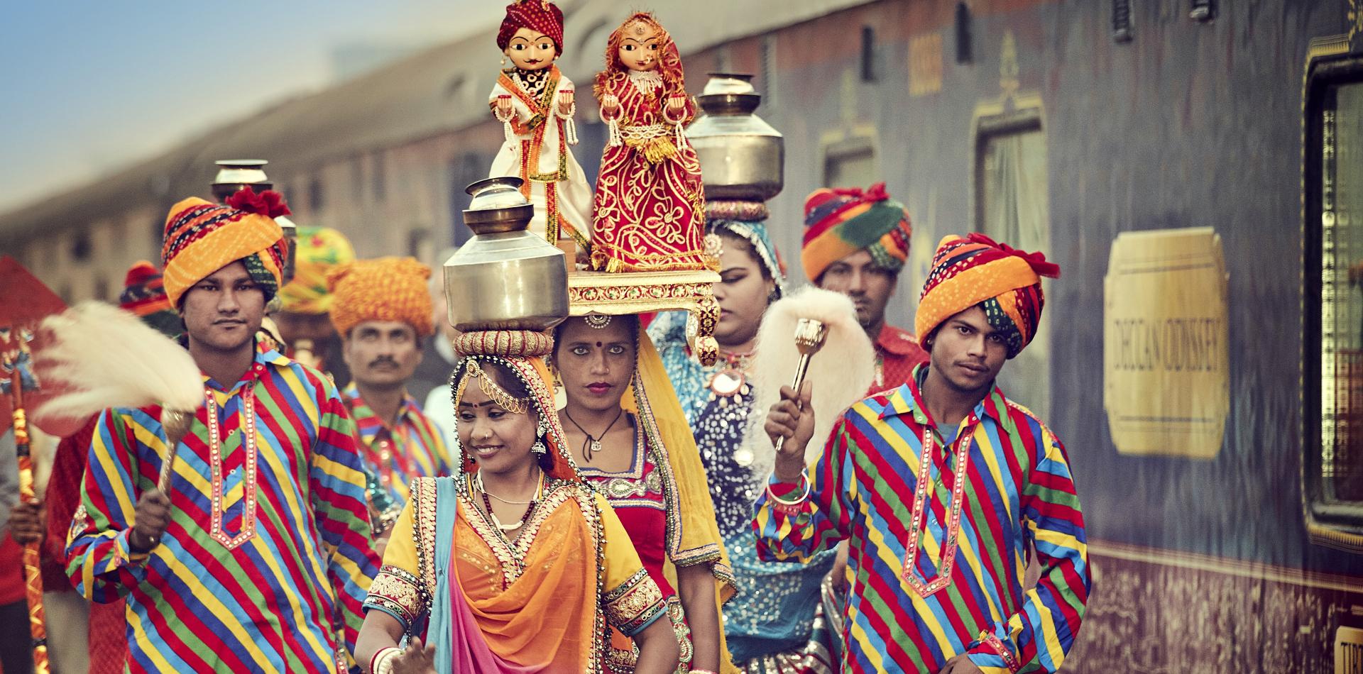 Individualreise durch Indien, Luxusreise Indien, Zugreise Deccan Odyssey durch Westindien