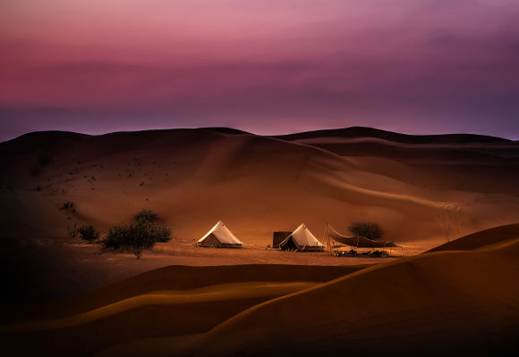 Luxuscamp Magic Private Camps, Wüstencamp Oman Dubai Abu Dhabi, Glamping, Wüstenzelt VAE