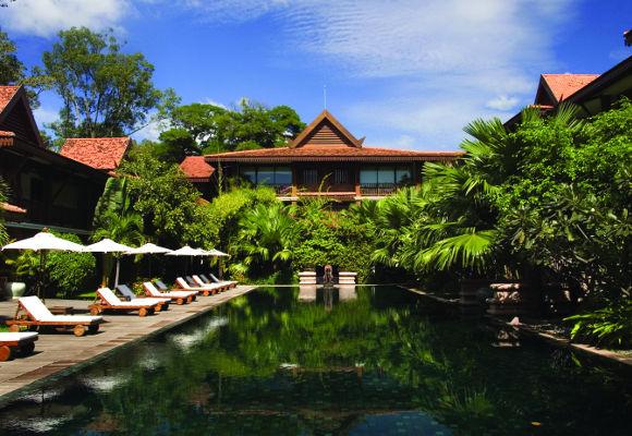 Belmond La Résidence d'Angkor Kambodscha, Luxushotel Angkor Wat, Individualreise Kambodscha