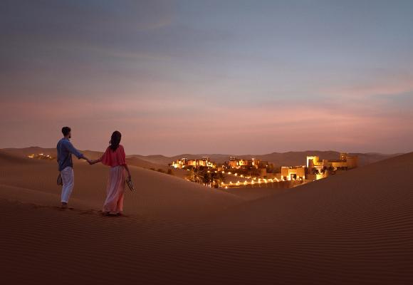 Luxushotel Qasr Al Sarab Desert Resort by Anantara Abu Dhabi, Wüsten Resort Abu Dhabi, Wüsten Hotel Abu Dhabi, Luxusreise Abu Dhabi, Wüstensafari Abu Dhabi