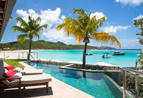 Luxushotel Eden Rock St. Barth, Luxushotel St. Barth, Luxusreise St. Barth