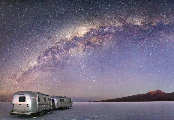 Bolivien, Salzwüste Salar de Uyuni Bolivien, Luxuscamper Bolivien, Uyuni Airstream, Glamping Bolivien