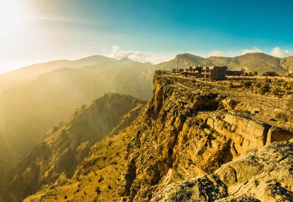 Luxushotel Alila Jabal Akhdar Oman, Luxushotel im Hajar Gebirge Oman, Luxushotel Oman, Individualreise Oman
