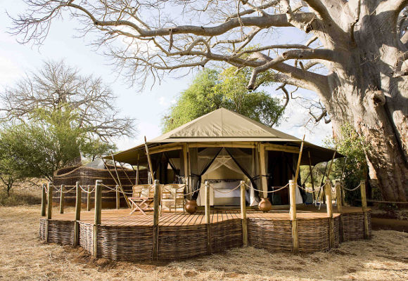 Sanctuary Swala Camp Tansania, Camp Tarangire Nationalpark, Individualreise Tansania