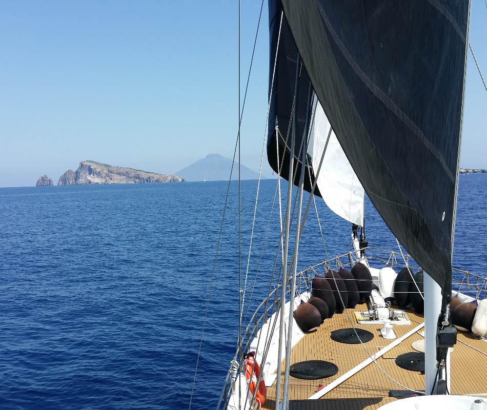 Private Segelyacht Summerset, Private Yacht im Mittelmeer, Privater Segeltörn