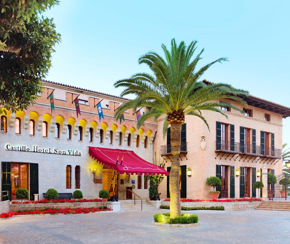 Castillo Hotel Son Vida Luxusreise Mallorca