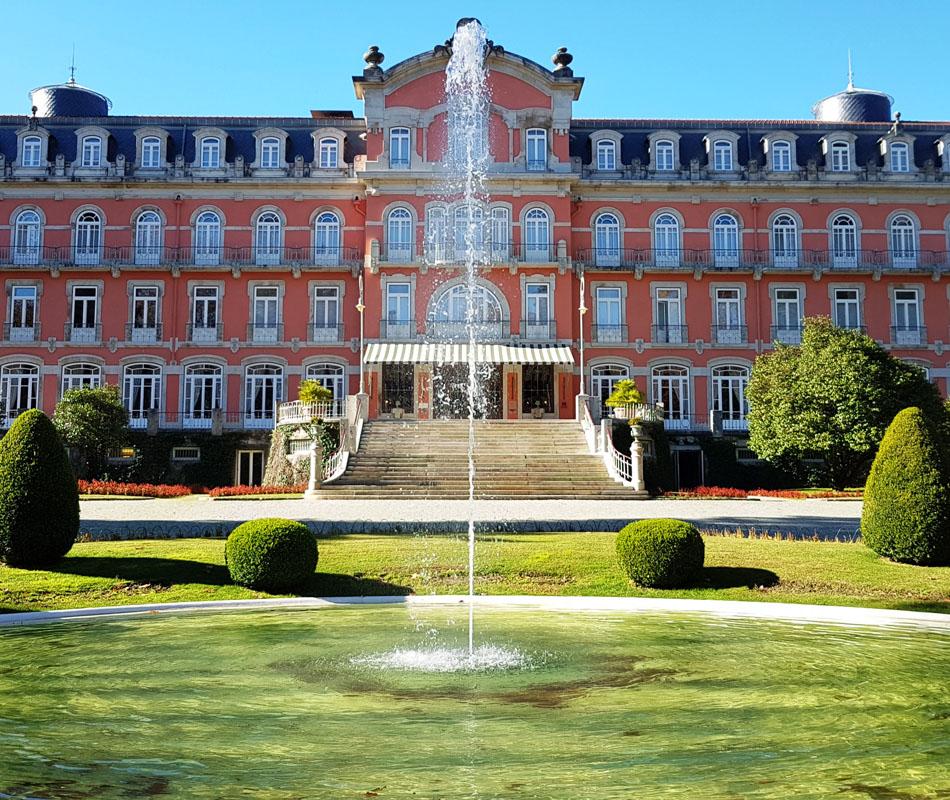 Vidago Palace - Luxushotel in Portugal