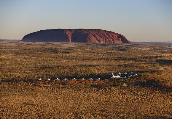 Longitude 131° Ayers Rock Uluru Australien, Luxuscamp Ayers Rock, Luxushotel Australien, Rundreise Australien