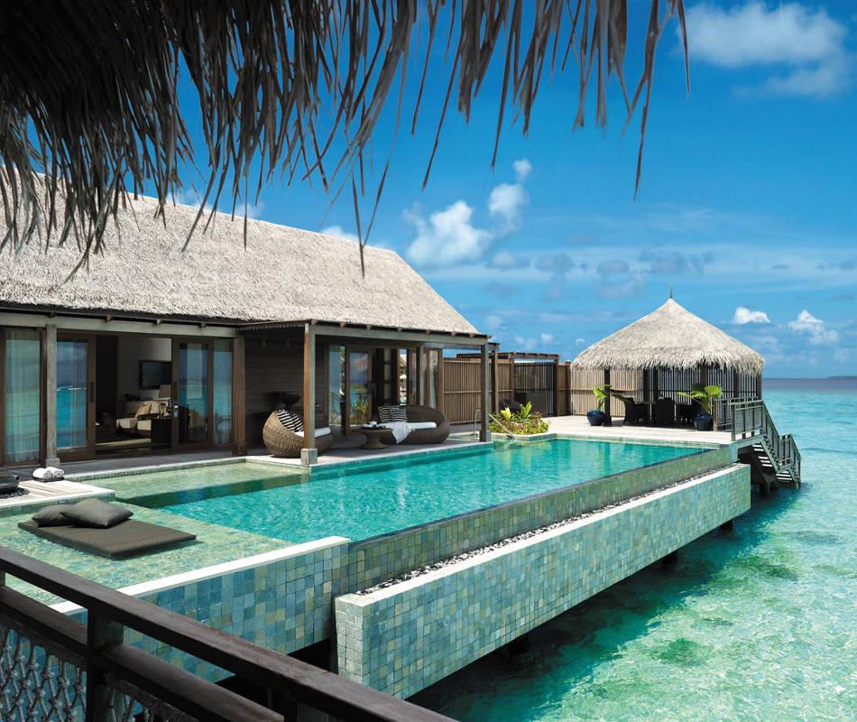 Shangri - La´s Villingili Resort Malediven, Luxushotel Malediven, Luxusreise Malediven