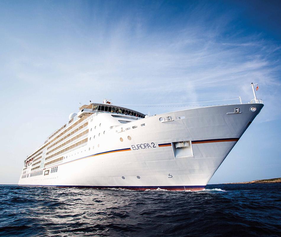 Hapag-Lloyd Kreuzfahrten, MS EUROPA 2, Kreuzfahrten