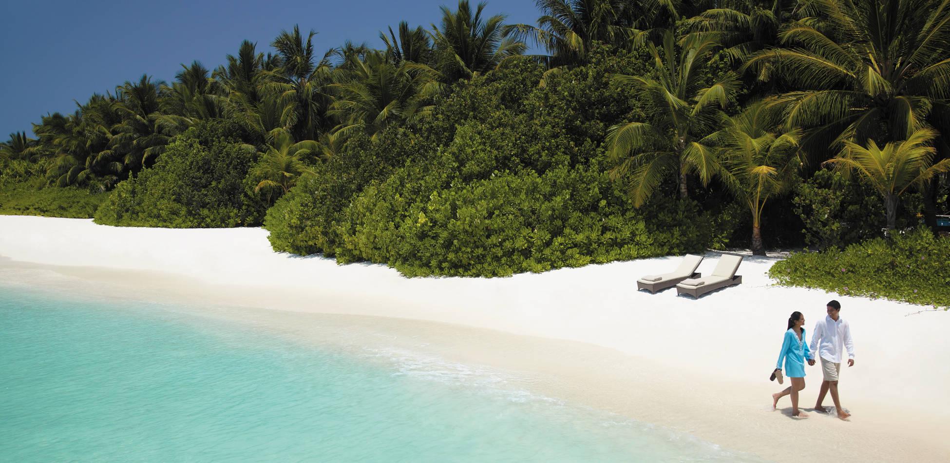 Shangri La's Vilingili Resort Malediven, Luxushotel Malediven