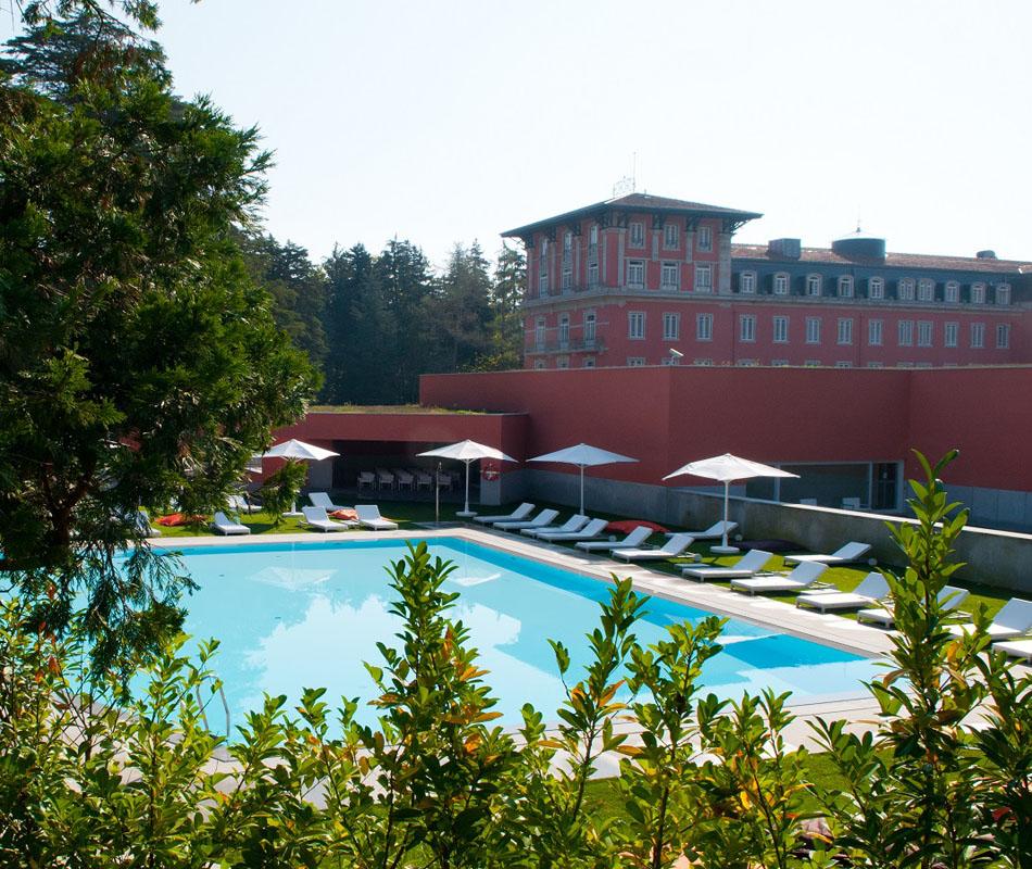 Luxusreise nach Portugal - Vidago Palace