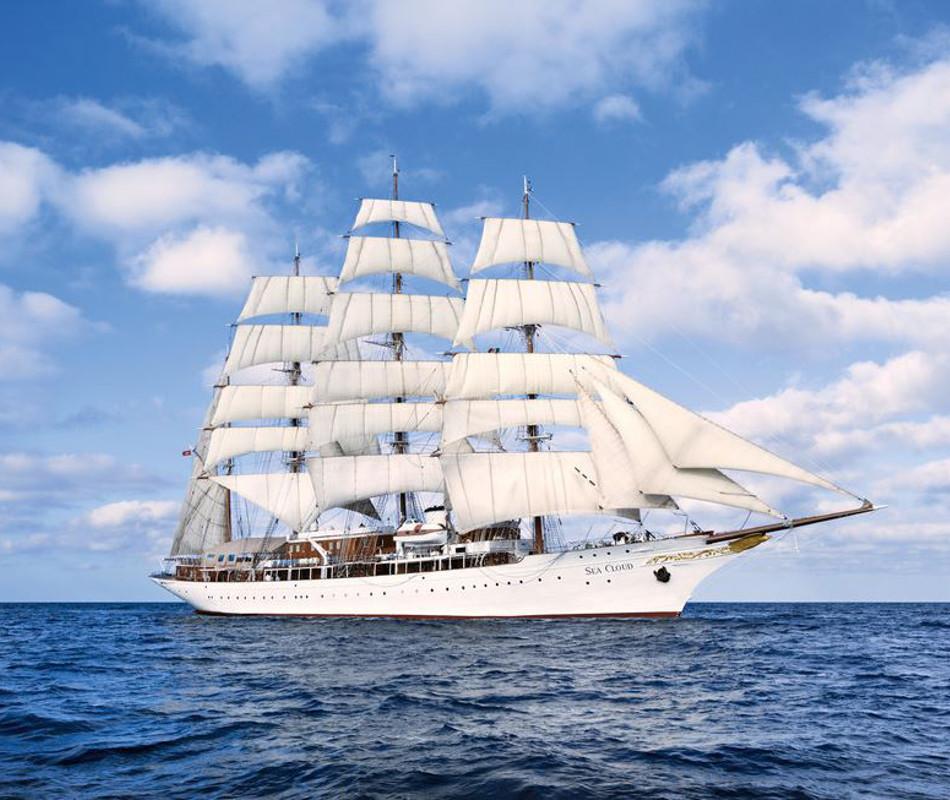 Segelkreuzfahrt Sea Cloud, Windjammer Sea Cloud, Segelkreuzfahrten