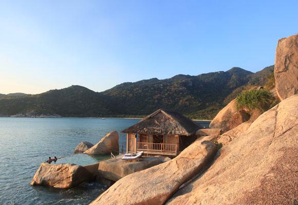 Six Senses Ninh Van Bay Vietnam, Luxushotel Vietnam, Kulturreise Vietnam