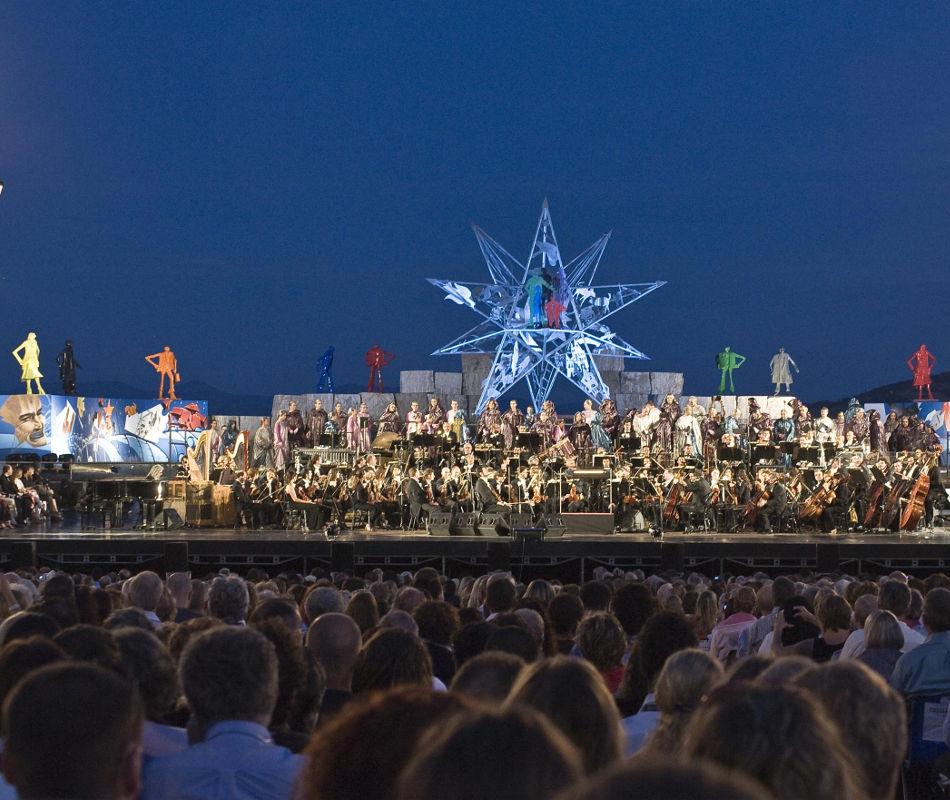 Livekonzert Andrea Bocelli Italien