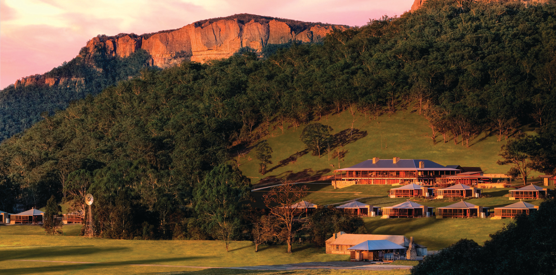Emirates One&Only Wolgan Valley, Luxushotel Australien, Erlebnisreise Australien