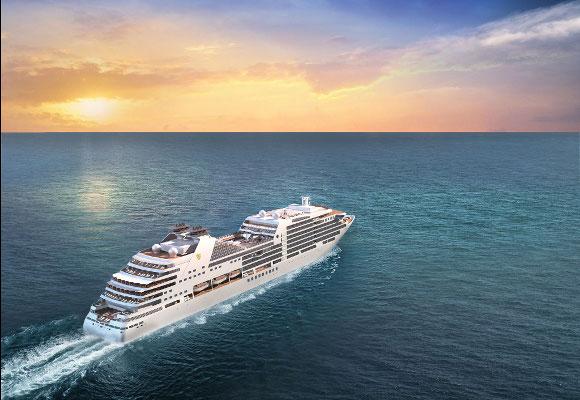 Kreuzfahrt mit der Seabourn Encore, Kreuzfahrtschiff Seabourn Encore