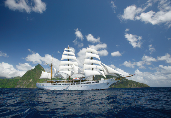 Segelkreuzfahrt Sea Cloud II , Windjammer Sea Cloud II, Segelkreuzfahrten