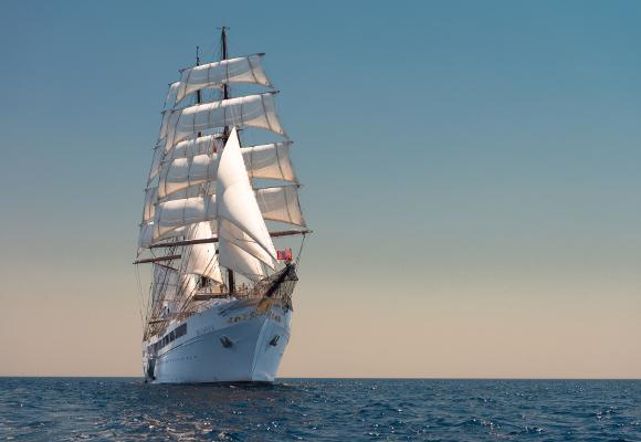 Segelkreuzfahrt Sea Cloud II , Windjammer Sea Cloud II, Segelkreuzfahrten