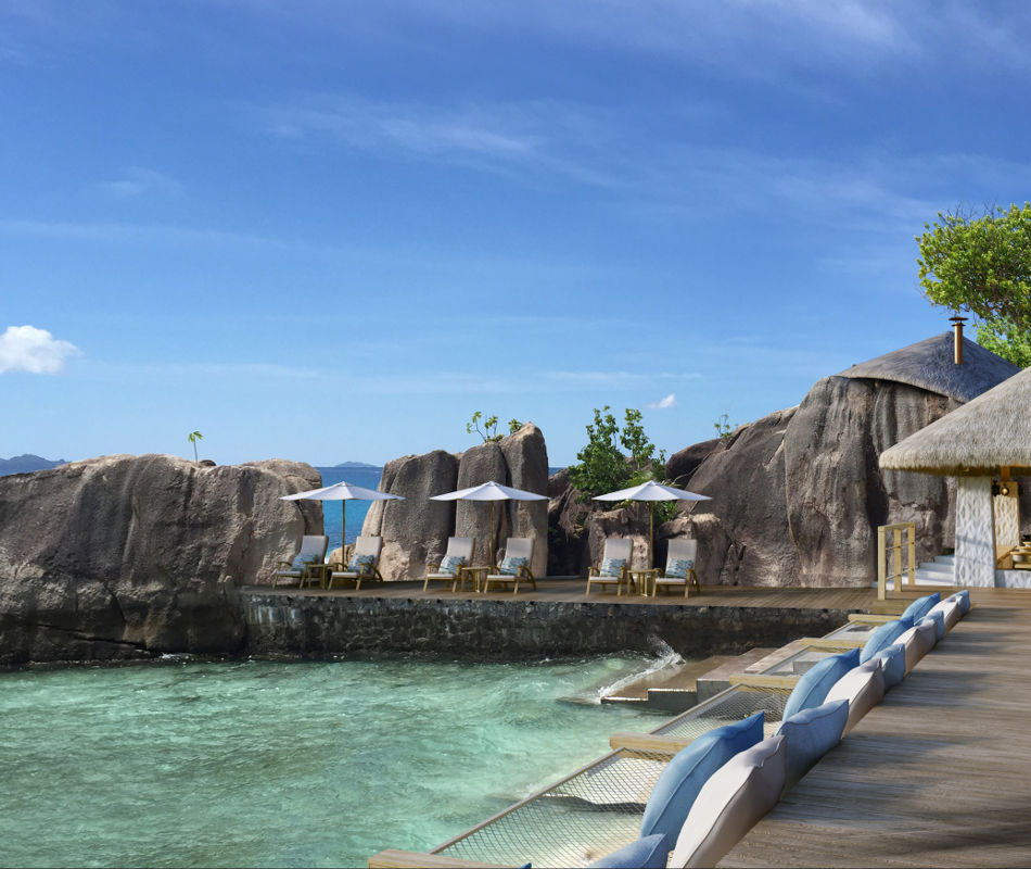 Six Senses Zil Pasyon, Luxushotel Seychellen, Luxusreise Seychellen