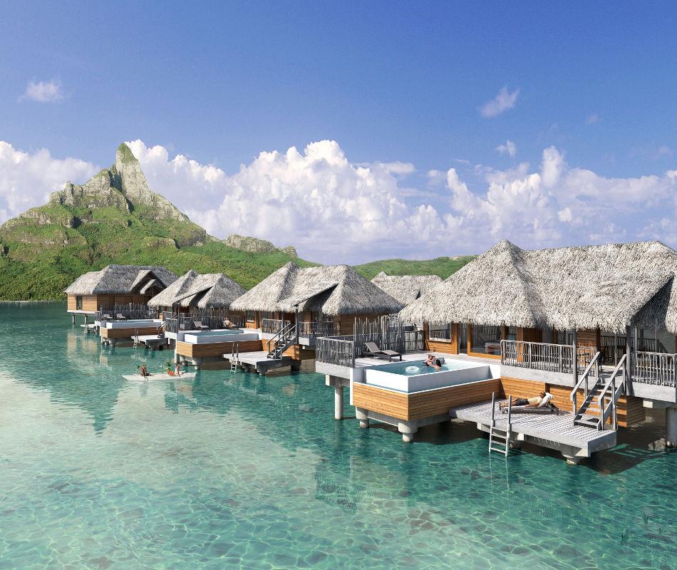 InterContinental Bora Bora Resort & Thalasso Spa, Luxushotel Bora Bora, Luxusreise Französisch-Polynesien