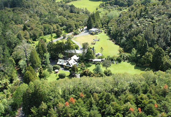 Bushland Park Lodge & Retreat Neuseeland, Luxushotel Neuseeland