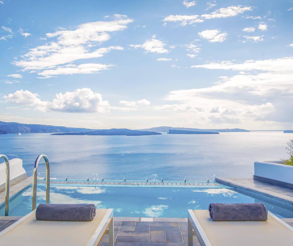 Santorini Secret Suite & Spa, Luxushotel Santorini, Luxusreise Santorini